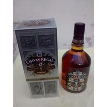 Whisky Chivas Regal 12 Años 1000ml./ 1 Lts - Origen Escocia