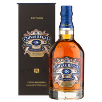 Whisky Chivas Regal 18 Años 750ml - Origen Escocia - 1x750ml
