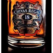 Wisky Chivas Regal 18 Años 750ml Con Estuche