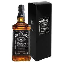 Whiskey Jack Daniels C/estuche De Litro Whisky Importado