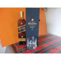 Whisky Johnnie Walker Etiqueta Azul ,con Estuche ,escocia