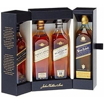 Whisky Johnnie Walker Collection Pack X4 Blue Label