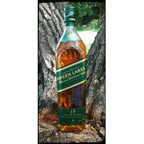 Whisky Johnnie Walker Green Label 1 Litro Con Estuche