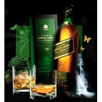 Whisky Johnnie Walker Green 1 Litro Estuche En San Isidro