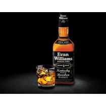 Whiskey Evan Williams Botellon 1/2 Galon Bourbon Black