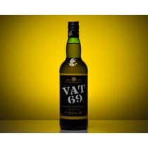 Whisky Vat 69 Importado De Escocia Botella Grande