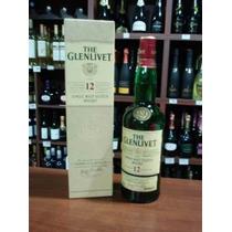 Whisky The Glenlivet Single Malt 12 Años Con Estuche