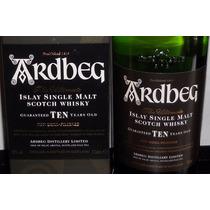 Whisky Ardberg Single Malt 10 Years 1 Litro En San Isidro