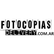 Fotocopias E Impresiones Delivery Gratis! El Precio Mas Bajo