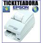 Ticketeadora Epson Tm U950/tmu-375 !!!completa 6 Meses Gtia.