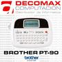Rotuladora Brother Pt-90 Impresora Etiquetadora - Decomax