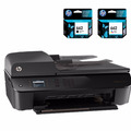 Impresora Hp 4645 Multifuncion + 2 Cartuchos 662 Adicionales