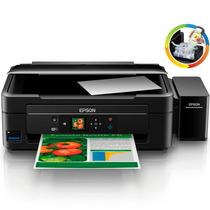Impresora Epson L455 Multifuncion + Sistema Continuo Ecotank