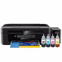 Impresora Sistema Continuo Epson L365 + 4 Tintas Adicionales