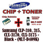 Botella Toner Samsung Clp-310, 315, Clx-3170 / 1-recarga Neg