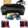 Impresora Hp D110 Multifucnion+sistema Continuo+tintas Extra