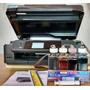 Impresora Epson Xp 411 + Sistema Continuo Tinta Sublimación