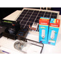 Panel Solar 10w Regulador Lampara Batería Fotocelula Soporte