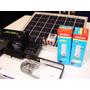 Panel Solar 10w + Regulador 2 Lamparas Batería + Fotocelula