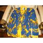 Exepcional Camisa De Seda Germany Oroi Azul T. Medium