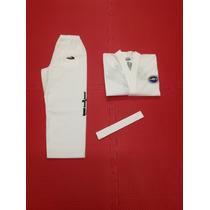 Uniformes Trajes Dobok Taekwondo Itf Sooyang Talles 5,6 Y 7