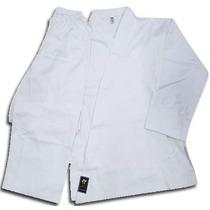Uniforme Karate Blanco Liso Traje 8 Onzas Talles 3 Y 4 Cap F