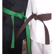 Cinturones Para Artes Marciales 2,90 Mts. 10 Costuras