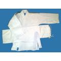 Judogi Samurai-ie Junior Tramado Mediano Blanco 130 A 150cm