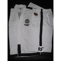 Dobok Uniforme Taekwondo Itf 1° A 9° Dan Top Pro 360 Zero
