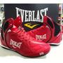 Botas Everlast Strike Cuero Boxeo Varios Colores Y Modelos