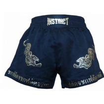 Short De Muay Thai - Kick Boxing - Mma -marca Instinct
