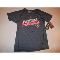 Remera Florida Panthers Nhl Talle M Mujer Reebok