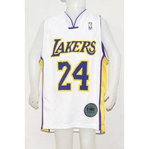 Camiseta Basquet Nba Niños Blanca Lakers Bryant