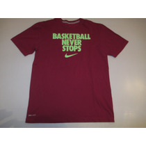 Remera Nike Basketball Never Stop Talle M Nba
