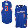 Camiseta Paul Clippers Adidas Nba Basketball Talles Varios