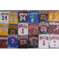 Camiseta Nba Para Chicos Bulls Lakers Miami Elegí La Tuya