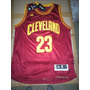 Camisetas N B A 2015 - Cleveland Bordó - #23 James-