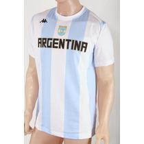 Remera Seleccion Argentina Basquet Kappa