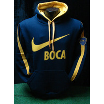 Buzo Canguro Boca Clasico 2016