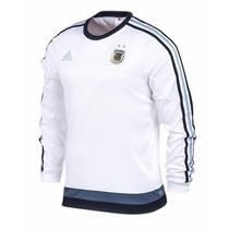 Buzo Adidas Selección Argentina Modelo Sweat Top 2015/2016