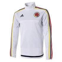 Buzo Adidas Selección De Colombia Modelo Training Top 2015