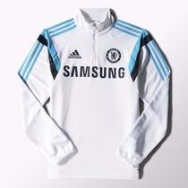 Buzo Chelsea Entrenamiento C/cierre Adidas 2015 Envío Gratis