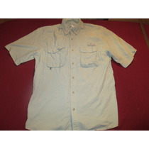Camisa De Secado Rapido Outdoor Pesca Talle L Mangas Cortas