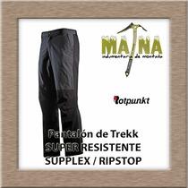 Pantalón De Trekking Rotpunkt - Super Resistente
