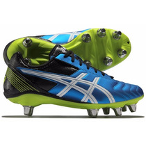 Botines Rugby Asics Cuero Tapones Intercambiables
