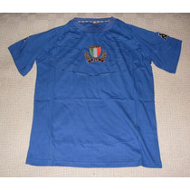 Italia Remera Rugby Marca Kappa, Talle S