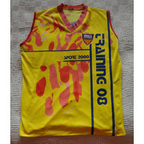 Boca Unidos Musculosa Sport 2000 Año 08 Amarilla