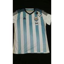 Camiseta Argentina Afa Adidas Adizero 2014 Talle L Nueva