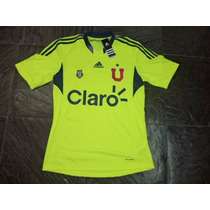 Camiseta Entrenamiento Universidad U De Chile 2013 Fluo