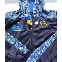Campera Boca Juniors Dama Mujer Oficial